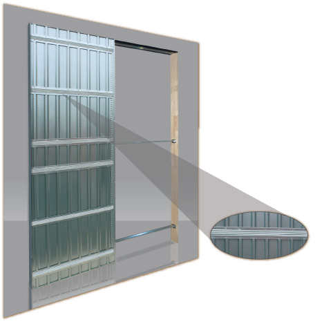 Ironflex frames for interiors for plasterboard walls